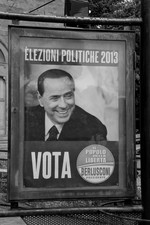 Election affiche of