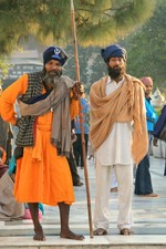 Sikhs at the Golden